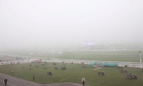 foggy day 3 at cheltenham